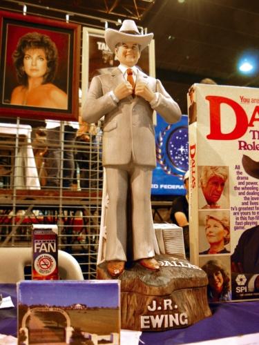 Le stand de Claude Bobin au salon collexion à Macon (juillet 2008)