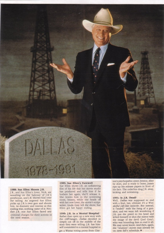 Dallas : 1978-1991 (article en anglais)